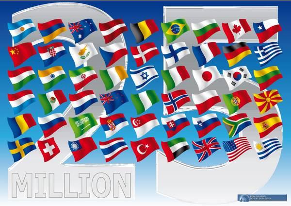 25 milionów dawców szpiku